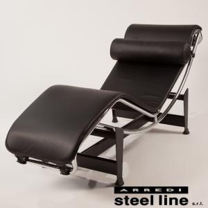 ル・コルビジェ LC4 シェーズロング レザー イタリア製 stl-702-le|designstyle