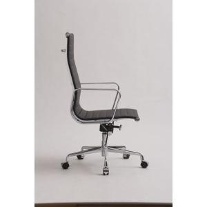 チャールズ・レイ・イームズ アルミナムグループ 23A ブラック PVC エグゼクティブチェアtim-000419|designstyle