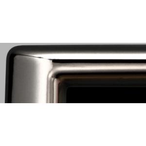 HONDA ホンダ 純正 ライセンスフレーム フロント用 ダーククローム調メッキタイプ 08P25-EJ5-B40 | フリード N-BOX NBOX ナンバーフレーム ナンバープレートリム|desir-de-vivre