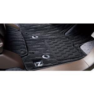 新車パッケージ HondaSENSING装備車 FF車用 ドアバイザー + フロアカーペットマット ...