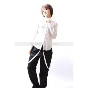 PARA(YS)GRAPH前立てサスペンダーシャツ(09A/W)|desir-de-vivre