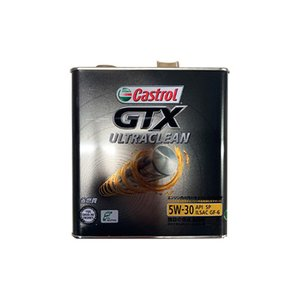 Castrol カストロール エンジンオイル GTX ULTRACLEAN 5W-30 3L 缶|desir-de-vivre