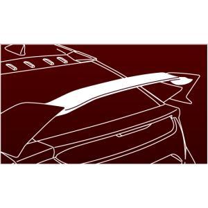 HONDA ホンダ 純正 CIVIC typeR シビック タイプR テールゲートスポイラー 2017.7〜仕様変更 08F02-TEA-070|desir-de-vivre|03