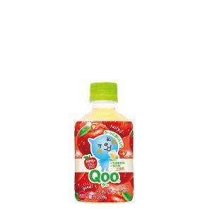 ミニッツメイド Qoo りんご 280ml PET 入数 24本 1 ケース | 果汁 コカ・コーラ コカコーラ cocacola こかこーら|desir-de-vivre