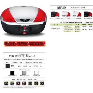 送料無料 クーケース REFLEXシリーズ V50 REFLEX Spec-F リモコン&アラーム、LED、インナーライナー付属FPモデル カラー( 無塗装ブラック )|desir-de-vivre