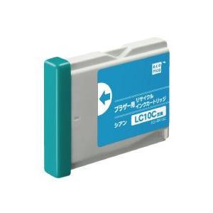 ecoricaエコリカ!リサイクルインクカートリッジ brotherブラザー互換製品!エコリカ型番【ECI-BR10C】 対応純正品【LC10C】カラー【シアン】|desir-de-vivre