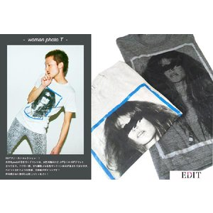 EDITwoman photo Tシャツ|desir-de-vivre