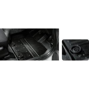 ホンダ FIT フィット ホンダ純正 ラバーマット フロント用 FF車/4WD車用 2010.10〜2012.04 | GE6 GE7 GE8 GE9 GP1 フロアマット ゴムマット マット 防水 部品|desir-de-vivre