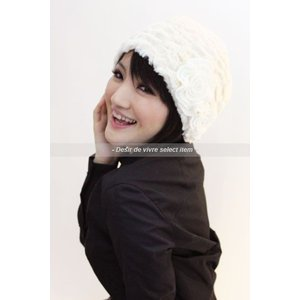 select itemポイントファーニット帽(A/W)|desir-de-vivre