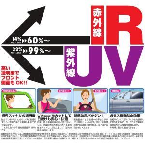UVカット IRカット フィルム オリジナル スモーク リア トヨタ プリウス H21 / 5〜仕様変更 ZVW30 T080-03スモーク|desir-de-vivre