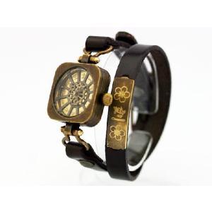 Ks 扇流 おおぎながし 手作り腕時計 desir-de-vivre