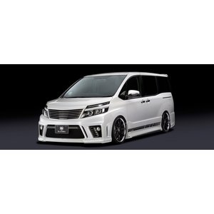 SilkBlaze GLANZEN エアロ3点セット トヨタ 80系ヴォクシー…ZRR80W / 85W Zsグレード ガソリン車 H26.01〜 純正色塗装 / バックフォグあり|desir-de-vivre