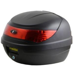 LEAD リード工業 HEMEL H-1001A リアボックス | 大容量 かぎ付 トップボックス トップケース ハコ フルフェイス ヘルメット 収納 35L ボックス ケース リア 荷物|desir-de-vivre