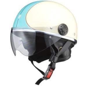 LEAD リード工業 O-ONE ハーフヘルメット IV/BL | ハーフ ヘルメット ヘルメ レディース 原付 かわいい ライト スモーク シールド インナー 交換|desir-de-vivre