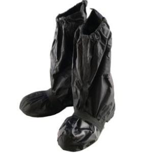 LEAD リード工業 Landspout RW-052 ブーツカバー | シューズカバーカバー シフトガード ガード ソール ブラック 黒 収納袋付 靴 雨具 レイン 雨 足元 冬|desir-de-vivre