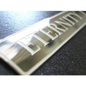 ETERNITY エタニティ オリジナルプレート ステンレス|desir-de-vivre
