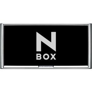 HONDA ホンダ 純正 NBOX N-BOX エヌボックス ライセンスフレーム フロント / リア + ロックボルト 2015.2〜仕様変更 08Z01-EJ5-000G / 08Z01-EJ5-010H|desir-de-vivre