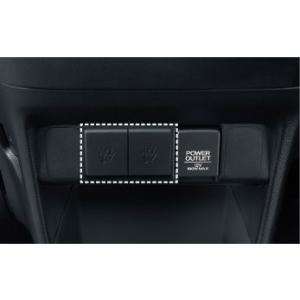 HONDA ホンダ N-BOX SLASH NBOX スラッシュ 純正 USBチャージャー 2口 / 5V / 各 2.1A 2014.12〜仕様変更|desir-de-vivre