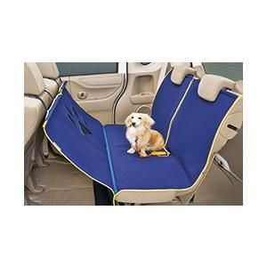 取り付け取り外しが容易な、小型犬から大型犬まで使えるシートマットです。  運転席が見えるよう、フロン...