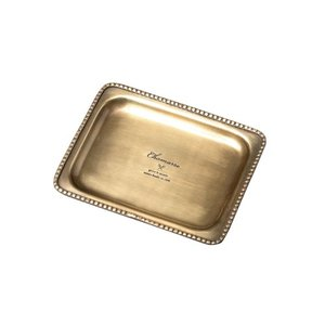 CHAMARRE トレイ レクト S アイアン W15 D11.5 H1.5cm|desir-de-vivre