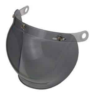 LEAD リード工業 BC-10/BC-9/QP-2/QP-1/CR-760 専用 オプションシールド ライトスモーク | シールド 交換 専用 ジェット ヘルメット カバー パーツ 防止|desir-de-vivre