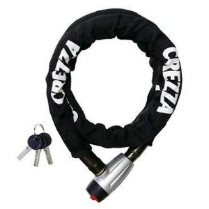 LEAD リード工業 CREZZA LW-012 リンクロック LW-012A ブラック | ロック 鍵 スペアキー 盗難防止 セキュリティ盗難 防犯 対策 駐車 ブラック 二重構造 切断防止|desir-de-vivre