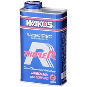 TR トリプルアール 10W-40 1L 缶 SAE:10W-40、JASO:MA、TR-40 4サ...