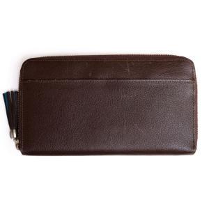 a88a83b3d1f9 TSUCHIYA-KABAN 土屋鞄 長財布 クラルテ フリンジロングウォレット