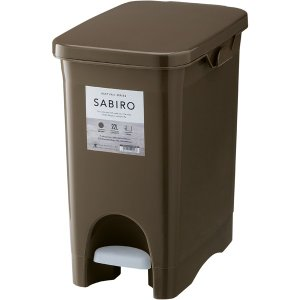 サビロ ペダルペール 20PS RSD-180BR   ゴミ箱 おしゃれ キッチン 分別 フタ付き ダストボックス 22リットル ペダル式 北欧 シンプル 一人暮らし desirdevivre-zacca