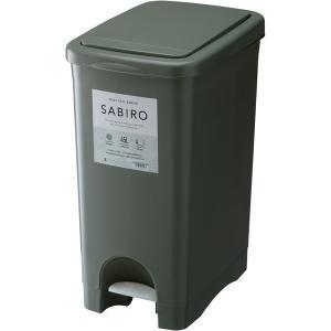 サビロ プッシュペダルペール RSD-183GR   ゴミ箱 おしゃれ キッチン 45リットル 分別 フタ付き ダストボックス ペダル式 ワンタッチ 北欧 シンプル desirdevivre-zacca