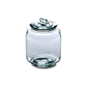 ピーナッツジャー No.3 ガラス W16.5 D16.5 H23cm|desirdevivre-zacca