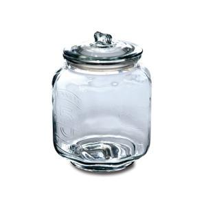 ピーナッツジャー No.5 ガラス W21.5 D21.5 H30cm|desirdevivre-zacca