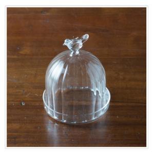 Marlene ガラスドーム 耐熱ガラス 直径7 H9cm|desirdevivre-zacca