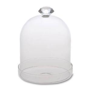 Marlene ガラスドーム 耐熱ガラス 直径11 H14.5cm|desirdevivre-zacca