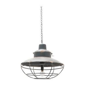 LEDハンギングランタン アイアン 直径24 H54 24 cm|desirdevivre-zacca