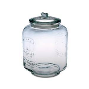 ピーナッツジャー No.6 ガラス W24 D24 H34.5cm|desirdevivre-zacca