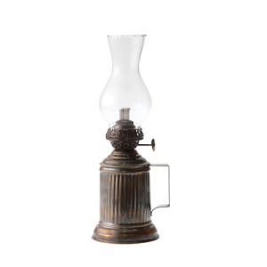AUTENTICO オイルランプ ブラス ガラス W7 D9.5 H25cm|desirdevivre-zacca