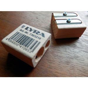 LYRA/リラ社 木製2穴鉛筆削り|desklabo