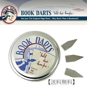 送料無料 BOOK DARTS/ブックダーツ ステンレス 50個缶入り |desklabo