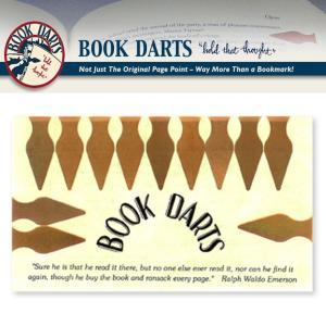 BOOK DARTS/ブックダーツ 12個入り ブロンズ desklabo