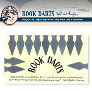 【BOOK DARTS】ブックダーツ 12個入り ステンレス desklabo