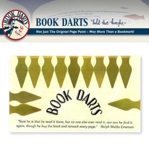 BOOK DARTS/ブックダーツ 12個入り ゴールド desklabo