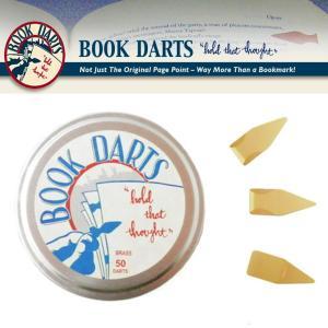 BOOK DARTS/ブックダーツ ゴールド 50個缶入り  desklabo