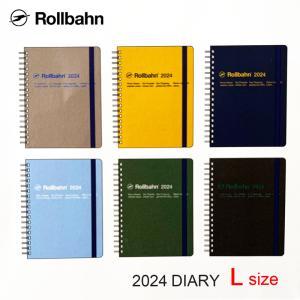 2020年 手帳 ロルバーン ダイアリー DELFONICS/デルフォニックス マンスリー 10月始まり Lサイズ 190014|desklabo