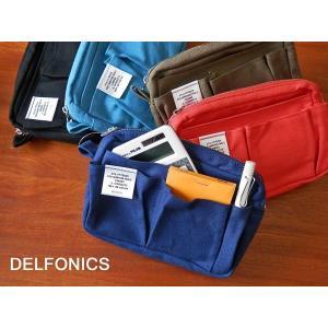バッグインバッグとして人気のDELFONICSのインナーキャリング。 新たにライトピンクとブルーグレ...