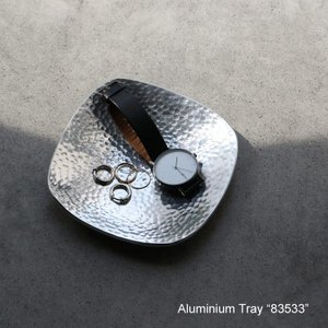 "Aluminium Tray ""83533""アルミニウム トレイ desklabo"