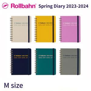 DELFONICS/デルフォニックス 2019年 春 2019スプリングダイアリー アクアレル 手帳 (2019年3月始まり) ロルバーン ダイアリー アクアレル A5サイズ|desklabo