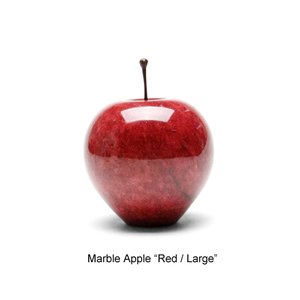 "Marble Apple ""Red / Large"" マーブルアップル"