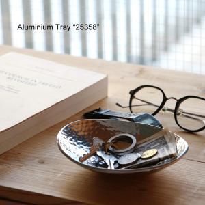 "Aluminium Tray ""25358""アルミニウム トレイ desklabo"