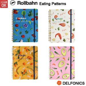 ロルバーン ポケット付メモ Lサイズ Eating Patterns 500740 DELFONIC...